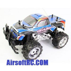 Rechargeable 1:14 Extreme Work Devil Boy RC Monster Truck RTR