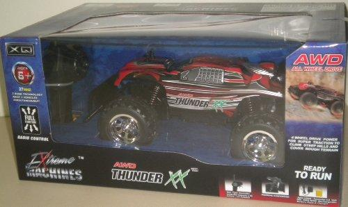 Extreme Machines AWD Thunder XX Red Radio Control Car