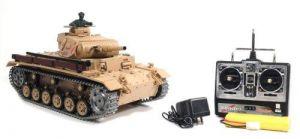 1/16 German TauchPanzer III Air Soft RC Battle Tank Smoke &