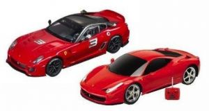 Twin Pack Remote Control RC Racing Ferraris - 458 Italia &