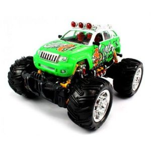 Big Size QUALITY Electric Full Function 1:16 Grave Digger Jeep