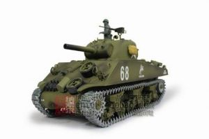1/16 US M4A3 Sherman Tank (105mm Howitzer) Air Soft RC Battle