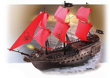 RC Pirate Ship R/C Pirates of the Caribbean Boat Radio Remote