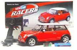 1:8 Scale Mini Cooper RC Remote Control Electric Car (Color May